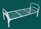 Кровати металлические с деревянной спинкой