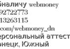 Обналичим webmoney wmr-wmz