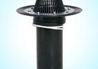 Водосточные воронки диаметром 110 и 160 мм, флюгарки, дефлекторы